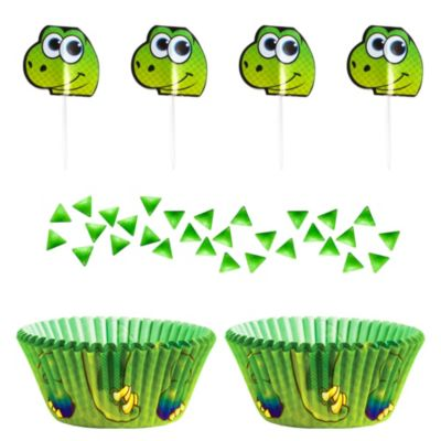 Dinosaur Cupcake Decorating Kit