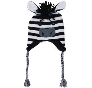 Zebra Peruvian Hat