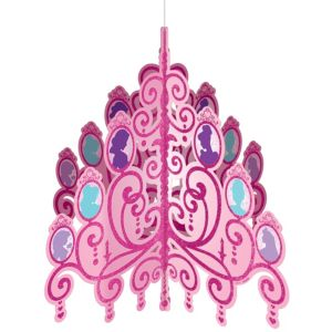 Disney Princess Glitter Chandelier Decoration 13in