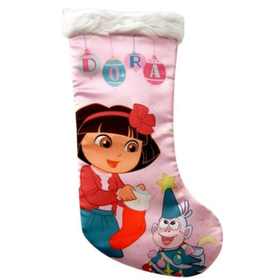 Dora the Explorer Christmas Stocking