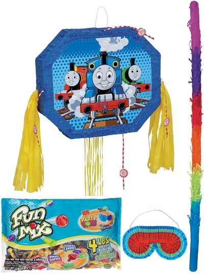 Pull String Thomas the Tank Engine Pinata Kit