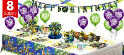 Teenage Mutant Ninja Turtles Party Supplies Super Party Kit
