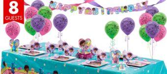 Doc McStuffins Super Party Kit for 8 Guests