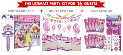 Sofia the First Party Supplies Ultimate Party Kit