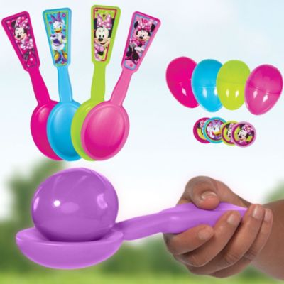 Minnie Mouse Egg Relay Game