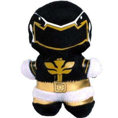 Clip-On Black Power Ranger Plush