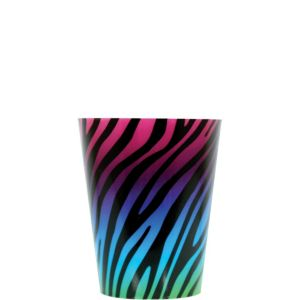Rainbow Zebra Shot Glass
