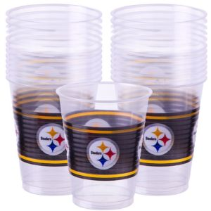 Pittsburgh Steelers Plastic Cups 25ct