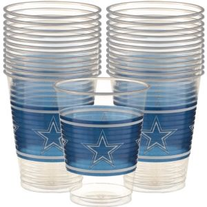 Dallas Cowboys Plastic Cups 25ct