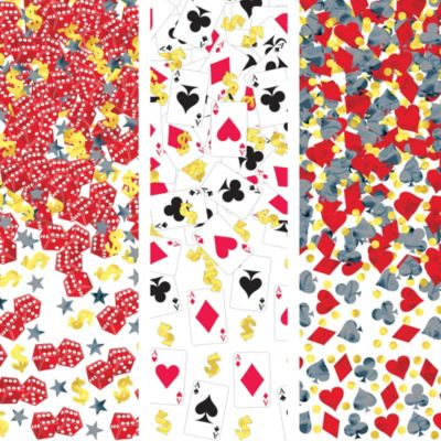 Place Your Bets Casino Confetti