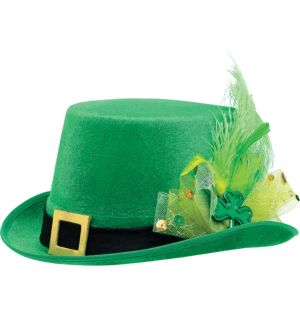 Fancy Leprechaun Top Hat