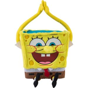 Plush SpongeBob Easter Basket 7in