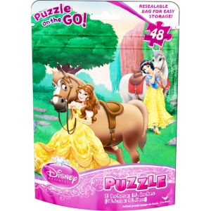 Disney Princess Puzzle Bag 48pc