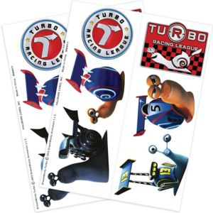 Turbo Tattoos 2 Sheets