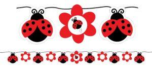 Fancy Ladybug Banner