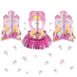 Girl's Communion Table Decorating Kit 23pc