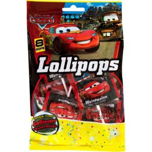 Cars Lollipops 8ct