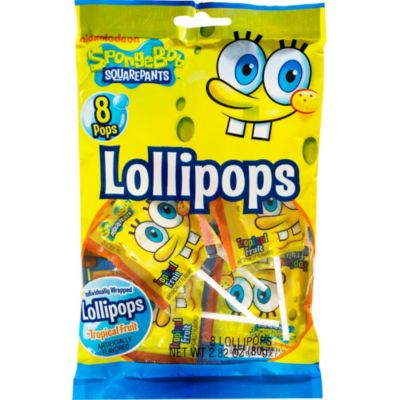 SpongeBob Lollipops 8ct
