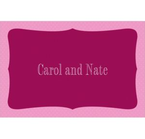 Custom White Bride and Groom Wedding Thank You Notes