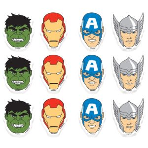 Avengers Erasers 12ct