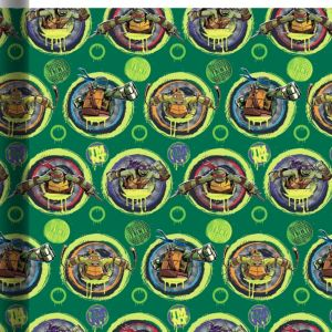 Teenage Mutant Ninja Turtles Gift Wrap