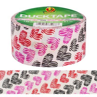 Heart Print Duck Tape