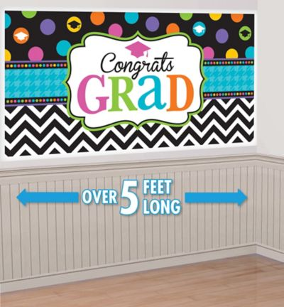 Dream Big Graduation Banner 65in   Party City lbgaiPAC
