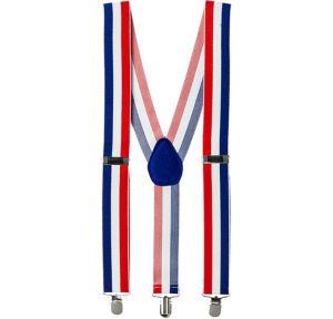 Patriotic Striped Suspenders