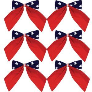 Patriotic Bows 6ct