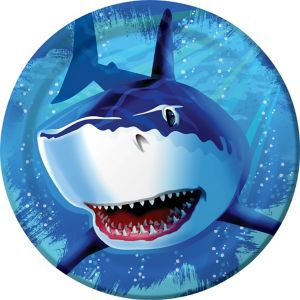 Shark Lunch Plates 8ct