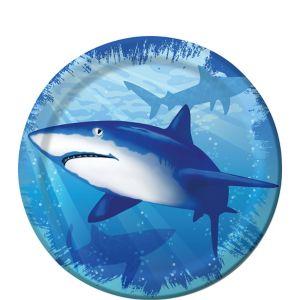 Shark Dessert Plates 8ct
