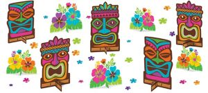 Tiki Table Decorating Kit 11pc