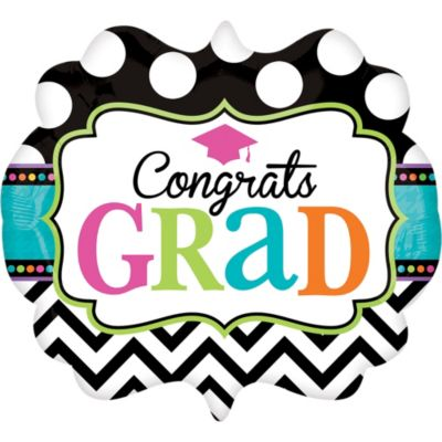 Graduation Balloon - Giant Dream Big