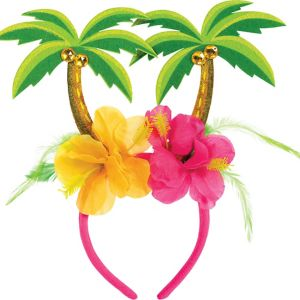 Hibiscus & Palm Tree Head Bopper
