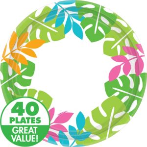 Palm Leaf Dinner Plates 40ct