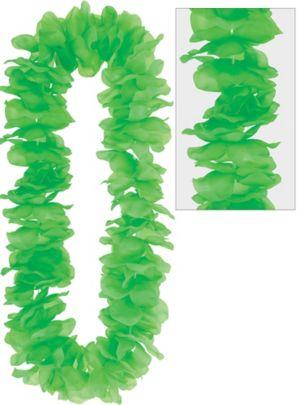 Neon Green Paradise Flower Lei