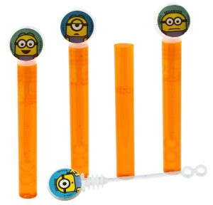 Despicable Me Mini Bubble Wands 4ct