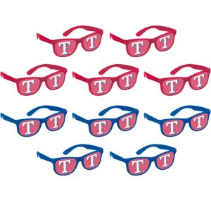 Texas Rangers Printed Glasses 10ct