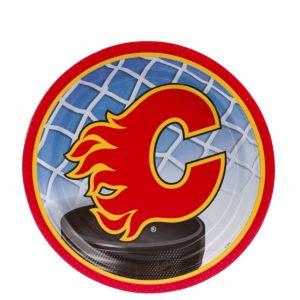 Calgary Flames Dessert Plates 8ct