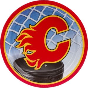 Calgary Flames Lunch Plates 8ct