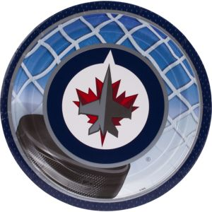 Winnipeg Jets Lunch Plates 8ct