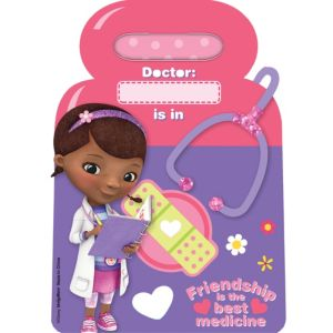 Doc McStuffins Favor Bags 8ct