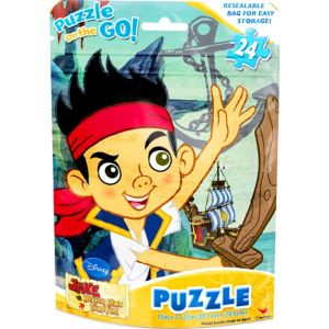 Jake and the Never Land Pirates Puzzle Bag 24pc