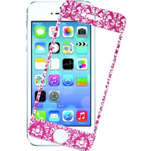 Pink Damask Screen Protector for iPhone 5/5s