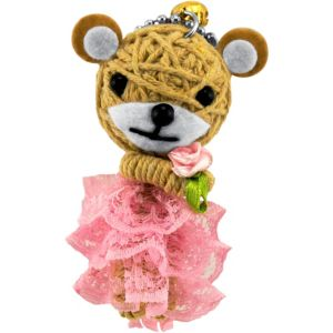 Honey Voodoo Doll Key Chain