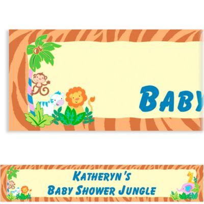 Custom Jungle Baby Shower Baby Shower Banner 6ft