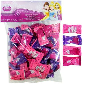 Disney Princess Cream Candies 56ct