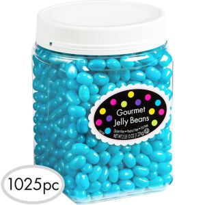 Caribbean Blue Jelly Beans 1025pc