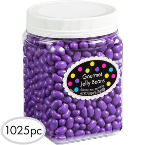 Purple Jelly Beans 1025pc