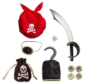 Child Swashbuckling Pirate Accessory Kit